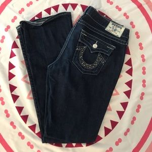 "True Religion ""Becky"" sequined pockets size 31"